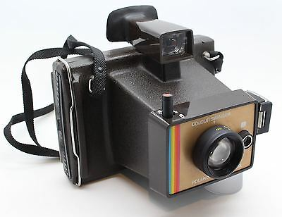 Polaroid Land Camera Colour Swinger - VGC working shutter - untested with film