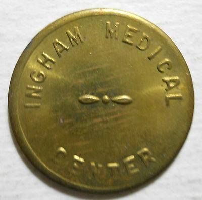 Ingham Medical Center (Lansing, Michigan) parking token - MI3560D