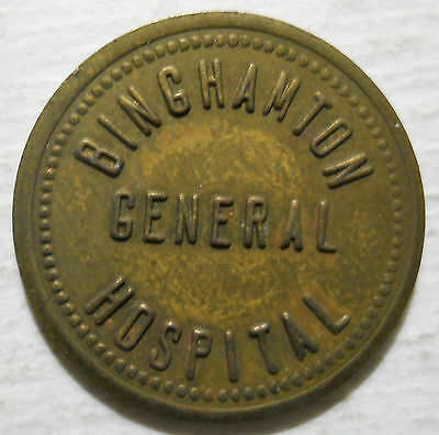 Binghamton General Hospital (New York) parking token - NY3080A