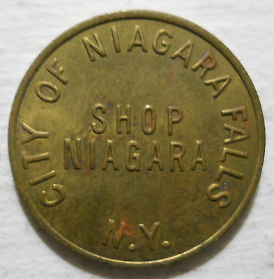 City of Niagara Falls (New York) parking token - NY3640A