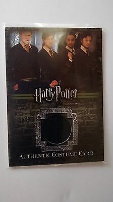 Harry Potter Order Of The Phoenix Wright Ginny Weasley Worn Costume Card