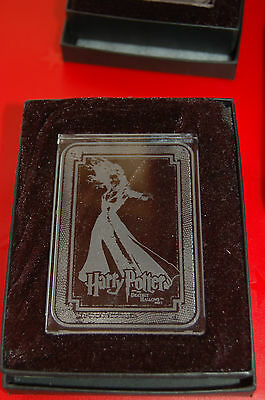 harry potter CRYSTAL CASE TOPPER BELLATRIX CLEAR
