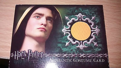 harry potter GOBLET OF FIRE C8 DIGGORY PATTINSON COSTUME CARD UPDATE SET LOW 14