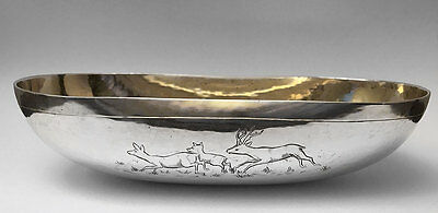 Massiv Silber Jagdschale / Solid Silver Hunting Cup / Stirrup Cup