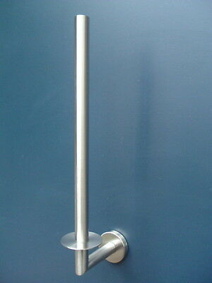 Spare Toilet Roll Holder Paper Stainless Steel Wall Mount New