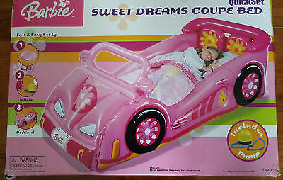 Barbie Sweet Dreams Coupe Inflatable Bed