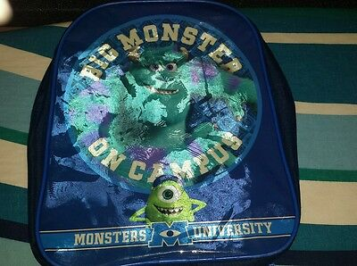 monsters university kids bag