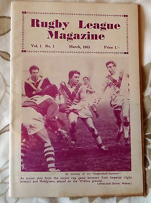 rugby league magazine 1963