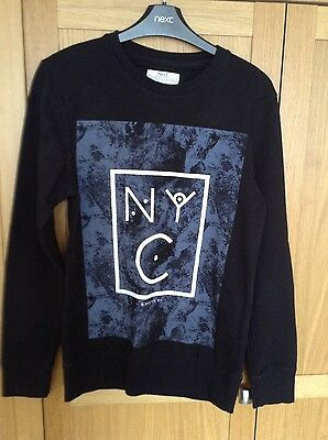 Mens NEXT  black jumper size XS