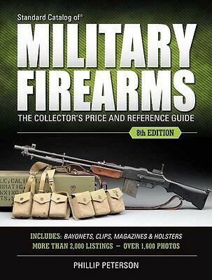 Standard Catalog of Military Firearms-NEW 8th Edition 2017 -Collector's MUST!