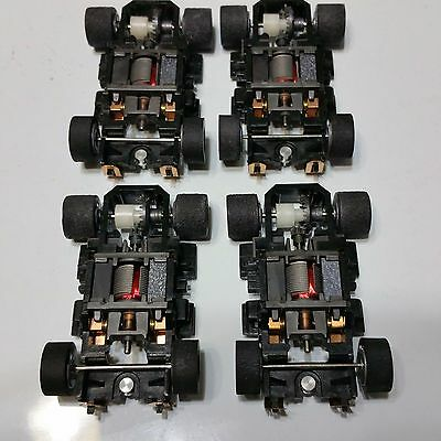 Tyco 440X2 Wide Pan Chassis Complete & Lot Of 4  New. Rare!