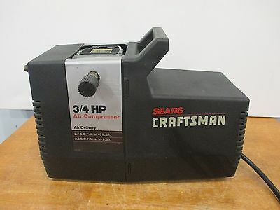 Sears Craftsman 3/4 HP Air Compressor  Model # 919-150270  Good Used Condition