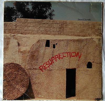 *** DAVID BOWIE - RESURRECTION *** VERY RARE 2 LPs