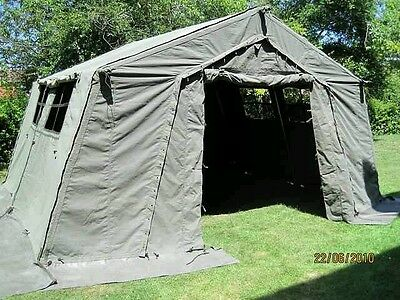 Genuine British Army 12 *12 Frame Tent