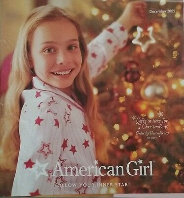 American Girl 2005 Catalogs Winter and December