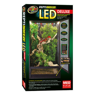 Zoo Med Reptibreeze LED Cage X-Large 61x61x122cm