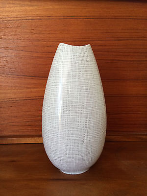 VINTAGE Mid Century Porcelain VASE by Raymond LOEWY Rosenthal Fine China 1950's