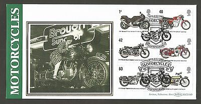BENHAM 2005 BRITISH MOTORCYCLES FDC (BLCS306b) LOT GB353