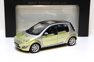 Smart Fortwo a453 cabrio en Moon White//Cool Silver m1:43 PC Norev s.a