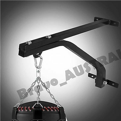 Heavy Duty Punching Bag Wall Bracket Steel Boxing Mount Hanging Stand Training