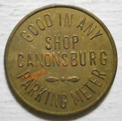Canonsburg Chamber of Commerce (Pennsylvania) parking token - PA3147A