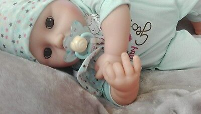 Baby Annabell Prince George Doll Mint Condition Collectable Reborn Life-like