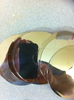 Hard Drive Platters (12) Platters for Crafts or Metal CLEANED