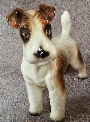 Large Wire Fox Terrier Circa 1950's - Lot 15 5/1