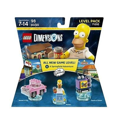 The Simpsons Lego Dimensions Level Pack Brand New