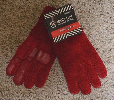 ISOTONER Signature Women's Smart Touch Gloves NWT L@@K