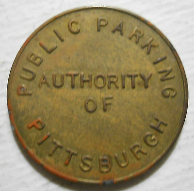 Public Parking Authority of Pittsburgh (Pennsylvania) parking token - PA3765L