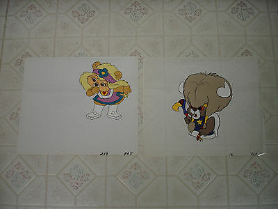 Paw Paws lot of 2 Original Animation Cels from Hanna Barbera