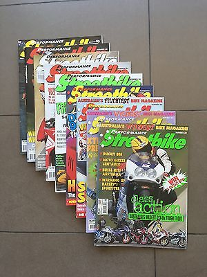 Performance Streetbike Magazine - Multiple Issues 1998-2001