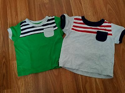 Lot of 2 Old Navy baby boy 12-18m t-shirts