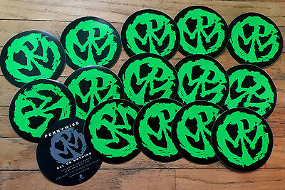 Pennywise,All Or Nothing Stickers,Lot of 15.Rancid,NOFX,Punk,AFI,Misfits