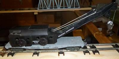 American Flyer Industrial Brownhoist crane train car #24543