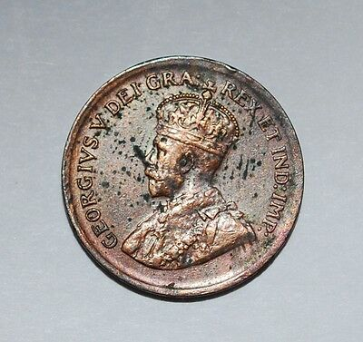 Canada 1 cent 1929 --buy $12 get free S&H+10% off over $12--957