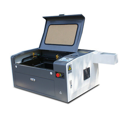 50W USB CO2 Laser Engraving Cutting Carving Machine Engraver Cutter 500*300mm
