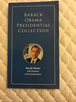 Barack Obama, Portrait Of Change, Presidential Coin Collection 44th President