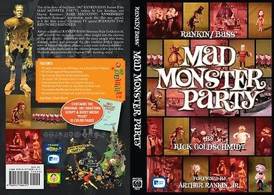 Monster fun! R/B Mad Monster Party signed HC Book! Animation History!