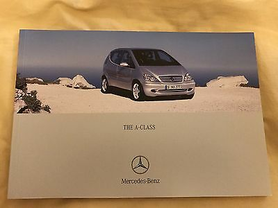Mercedes Benz A Class 2002-2003 Sales Brochure