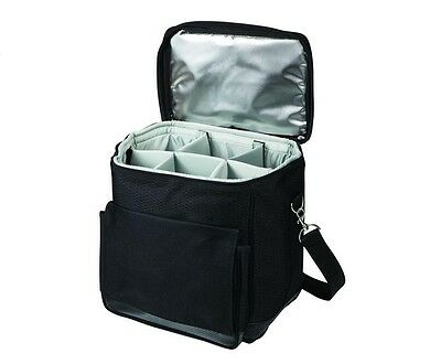 Picnic Time Cellar Wine Tote and Cooler Bar Tools Accessories Travel Picnic New