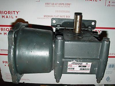 Morse (Regal) 18 GED 60 Right angle 56C REDUCER 60:1 Gearbox Ratio Worm drive