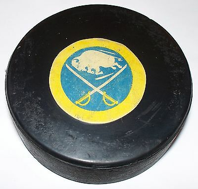 Nhl Game Used And Dated Hockey Puck 'goal Puck'
