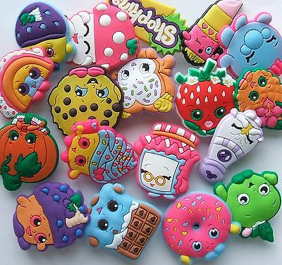SHOE CHARMS (S2) inspired by  SHOPKINS - (a) - Packs of 4 to 20