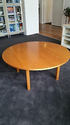Coffee Table Round Timber Gc