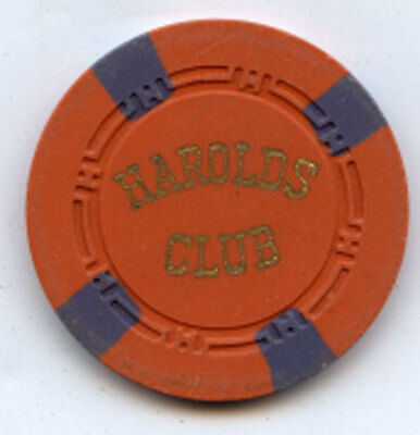 Harolds Club early roulette chip