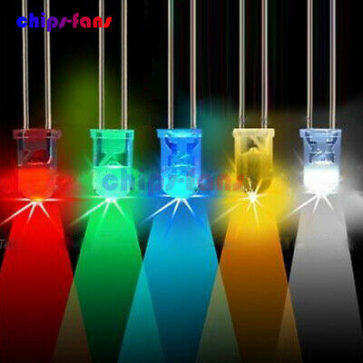 5mm Round Red/Green/Blue/Yellow/White/Purple Water Clear LED Diodes Light Kit