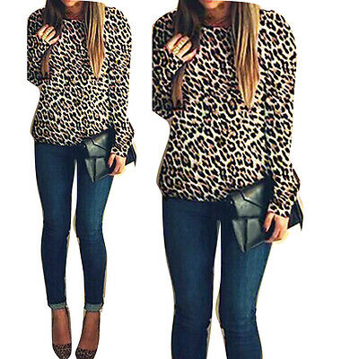 Women Embroidery Backless T-shirt O-Neck Clubwear Casual Tops Blouse Tee Leopard