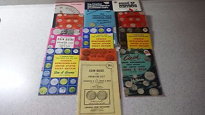 Vintage Charlton Guides And Coin Books Lot - 13 Books
